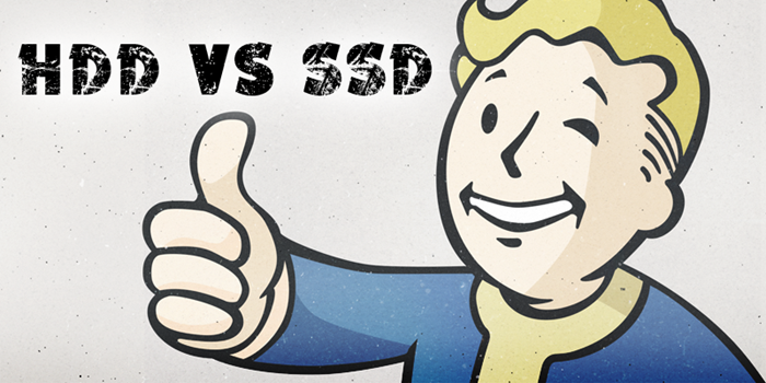Fallout 4 SSD vs HDD