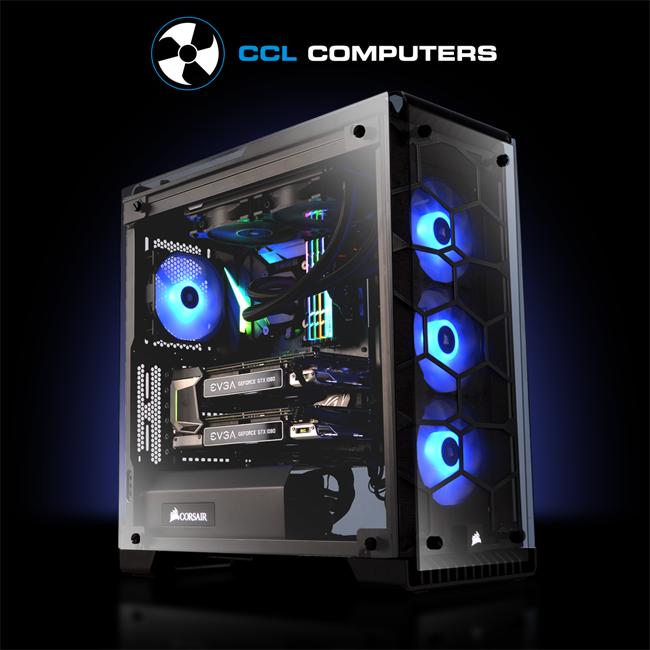 Custom Build Of The Week 3 Corsair 570x Sli Ccl Computers