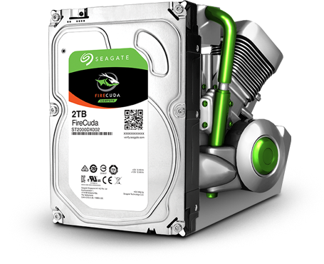 Seagate Firecuda delivers ferocious performance
