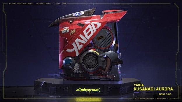 Side view image of Yaiba Kusanagi Aurora by Italian Extreme Modders