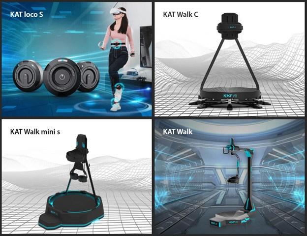 The Kat-VR product range