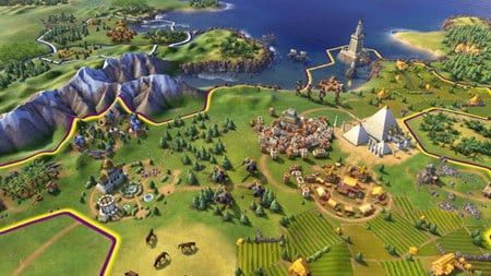 A screenshot of the game Civilization VI in relation to SSD performance
