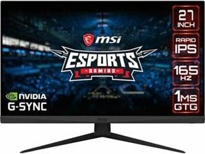 MSI Optix G273QF E-Sports 27 inch QHD IPS Monitor