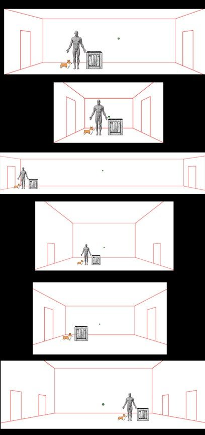 Level design and scale example from 'A Crooked Heart'