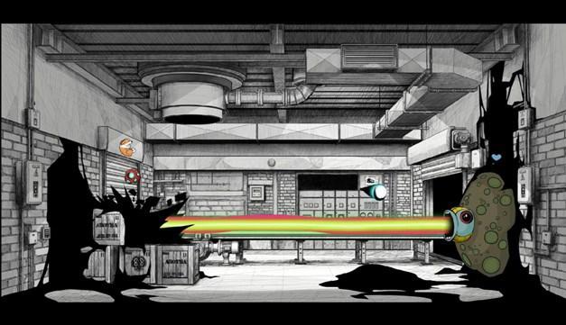 'A Crooked Heart' game level screenshot