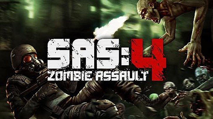 S.A.S. 4 - Zombie Assault mobile game logo