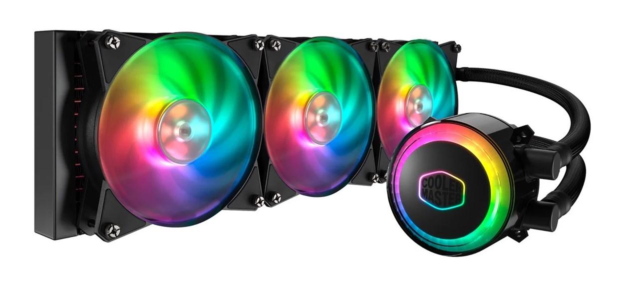 A Cooler Master MasterLiquid ML360R RGB AIO Liquid CPU Cooler