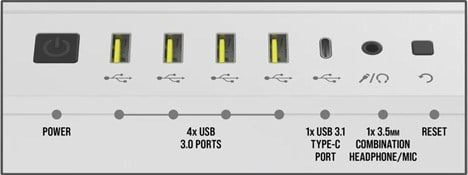 Front Panel IO Options for Corsair 7000D