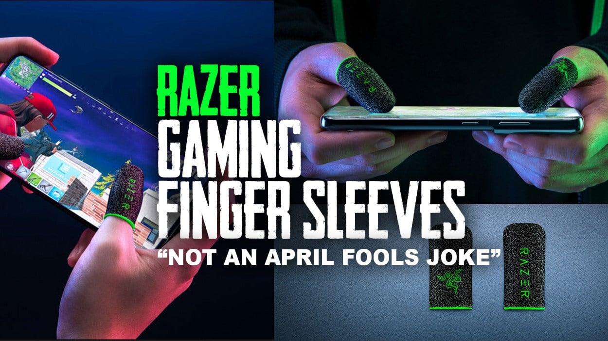 Razer Gaming Finger Sleeves - Not an April Fools joke