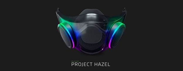 Project Hazel face mask from Razer – April Fool's 2010