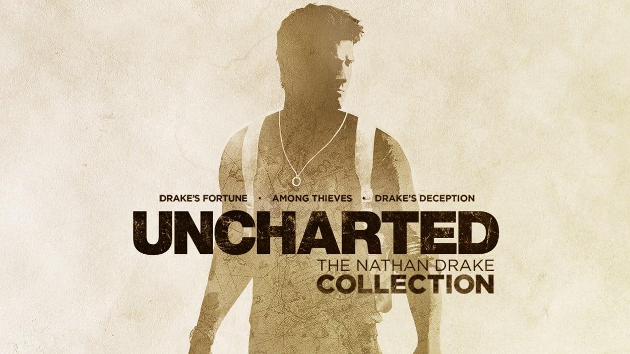 Uncharted - The Nathan Drake Collection game logo.
