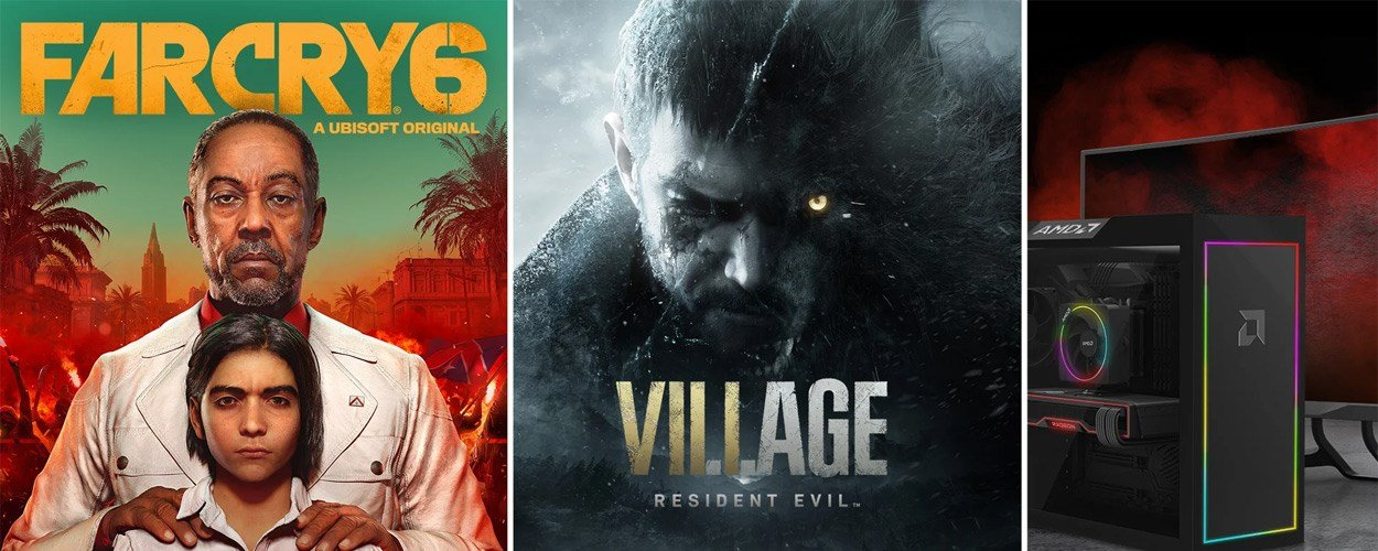 Claim a free copy of Far Cry 6 and Resident Evil Village with AMD's bundle