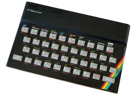 The Sinclair ZX Spectrum.