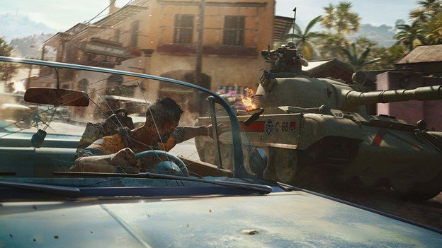 Far Cry 6 from Ubisoft.