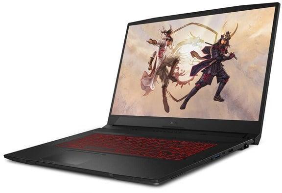 MSI Katana GF76 11UC 17.3 inch Core i7 Gaming Laptop for Photo Editing.