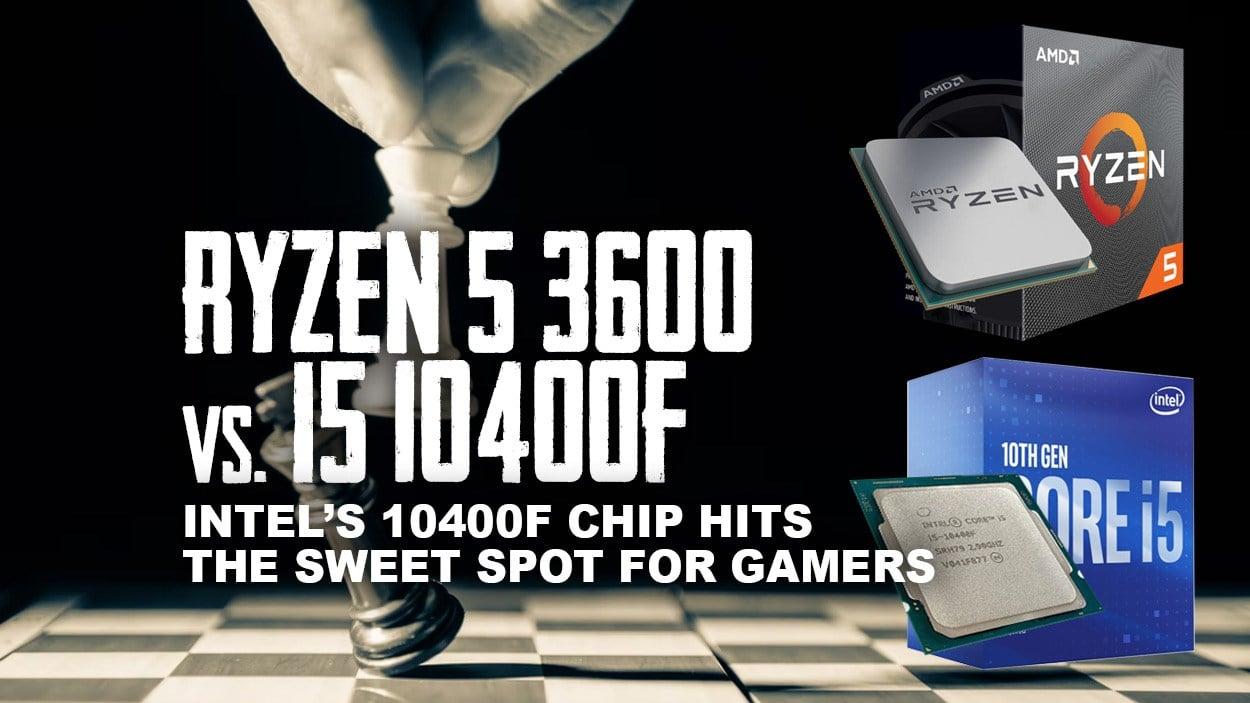 Ryzen 5 3600 vs Intel Core i5-10400F - Best Budget Gaming Build