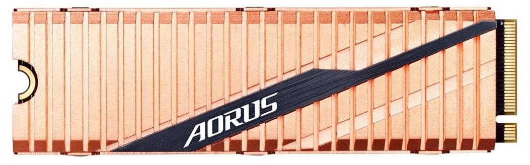 Gigabyte Aorus Gen4 1TB M.2-2280 PCIe 4.0 x4 NVMe SSD.
