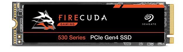 Seagate FireCuda 530 500GB M.2-2280 SSD.