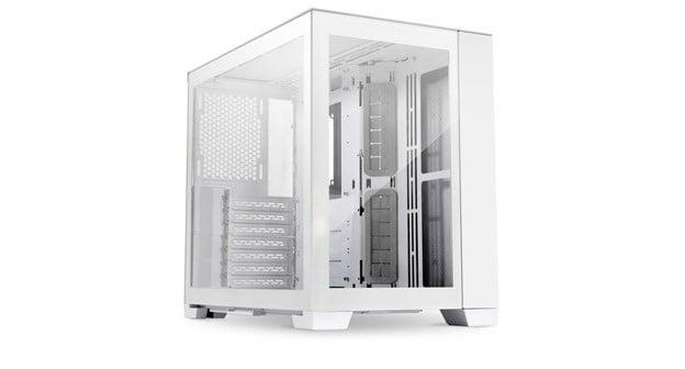 Lian Li O11D Mini-S Snow Edition white case.