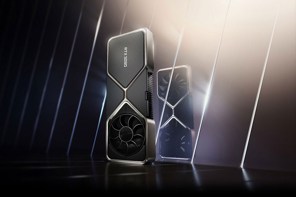 NVIDIA Founders Edition RTX 30 Series Graphics Cards.