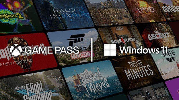 Game Pass for PC on Windows 11.