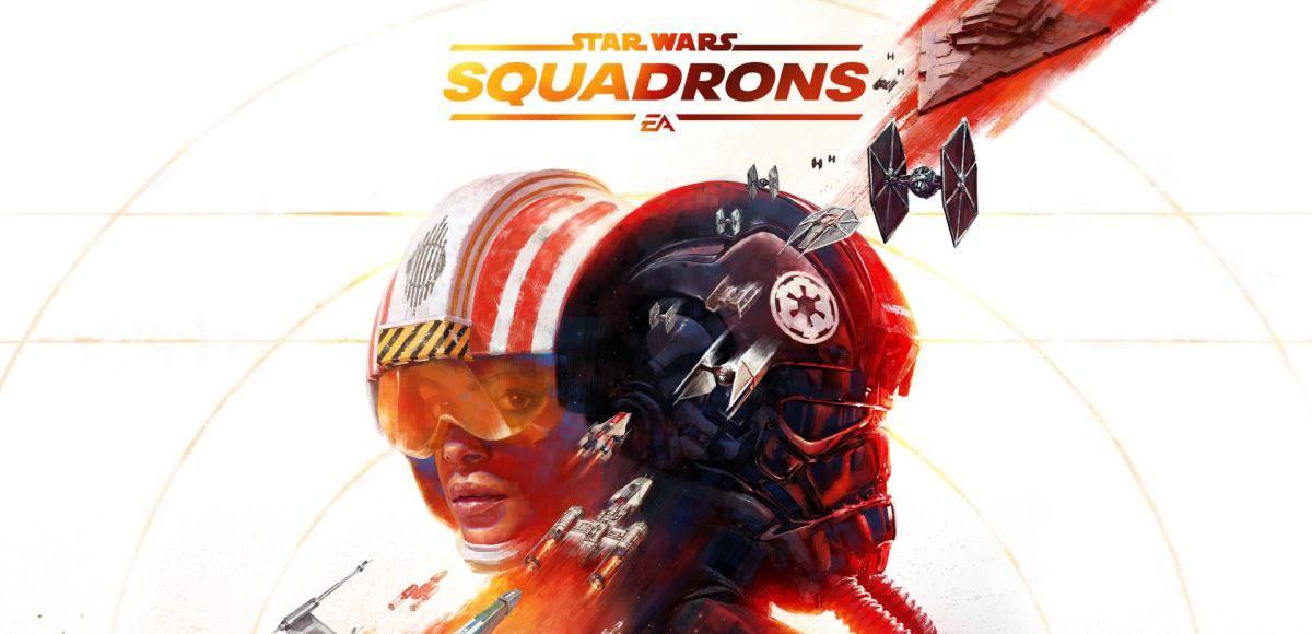 Star Wars Squadrons logo.