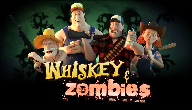 Whiskey and Zombies: The Great Southern Zombie Escape logo.