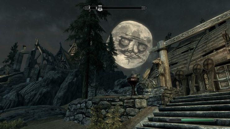 Skyrim Moon Gusta Mod
