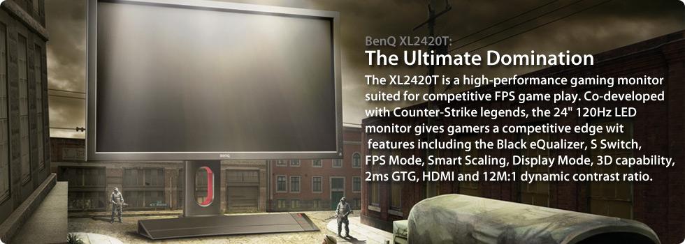 BenQ XL2420T monitor