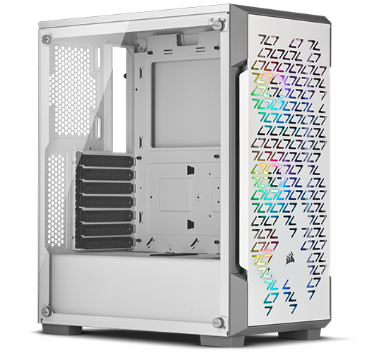 Corsair Graphite iCUE 220 RGB Airflow Tempered Glass