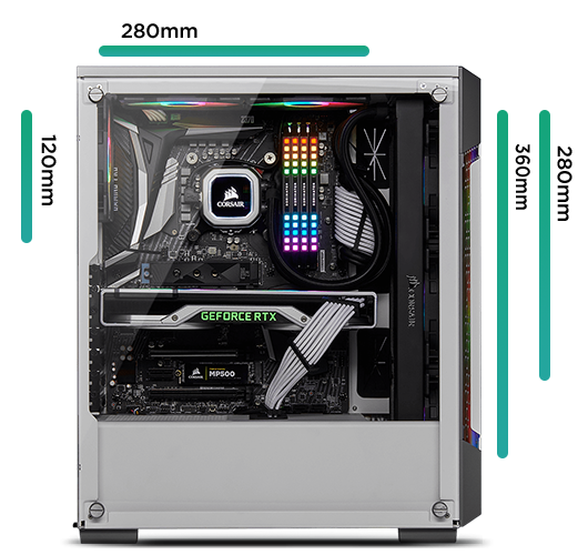 Corsair 220T Radiator Support