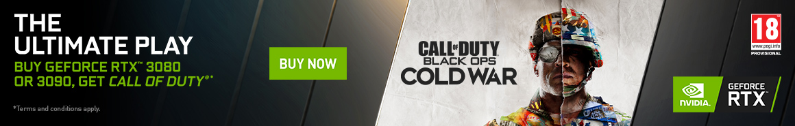 Call of Duty Cold War Promotional Banner