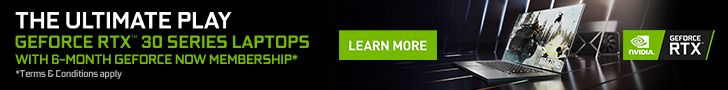 GeForce Now Promotion Banner