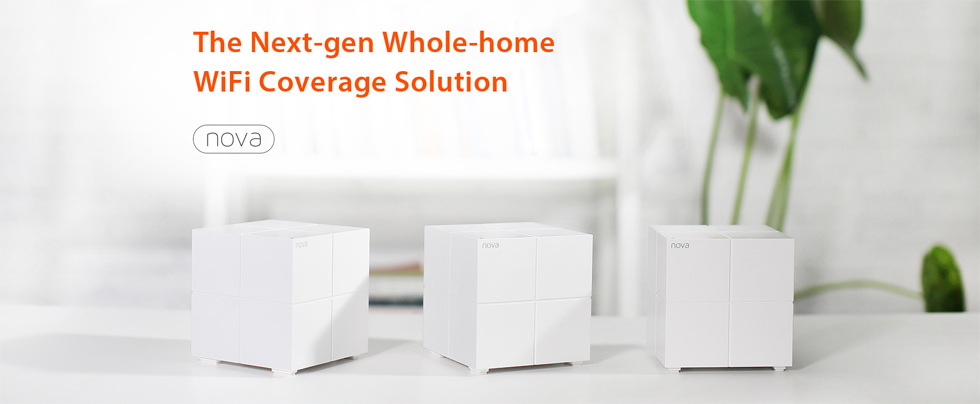 The next-gen whole-home WiFi coverage solution