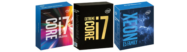 Intel HEDT Processors for Socket 2011-v3