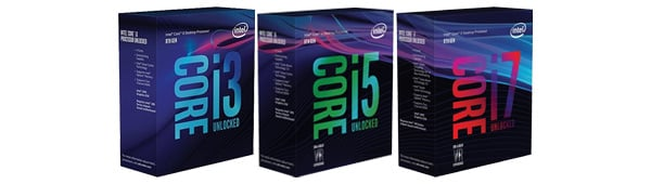 Intel 8th Generation Coffee Lake Core Processors