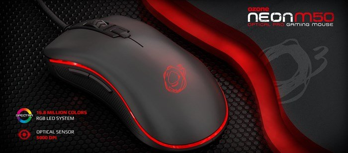 fd69923dfcf Ozone Gaming Announces the Neon M50 Gaming Mouse. | CCL Computers