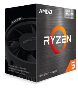 Angled image of the AMD Ryzen 5 5600G box