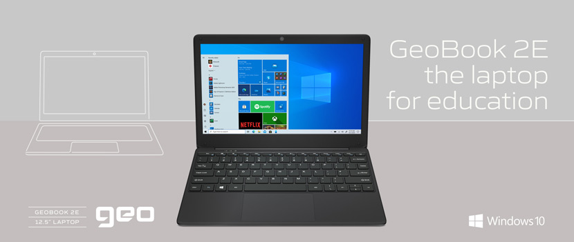 GeoBook 2e, the laptop for education