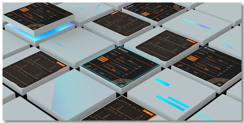 Several screenshots of the AORUS Engine utility