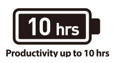 ps42 Up to 10 Hours Battery Life