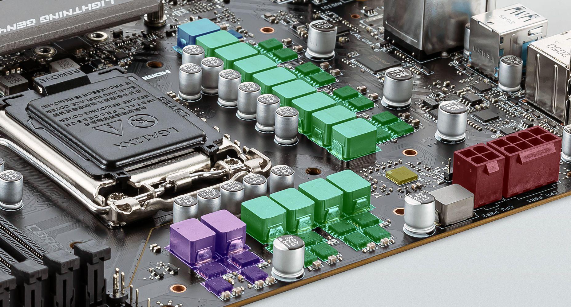 MSI MAG B560M MORTAR DUET RAIL POWER SYSTEM