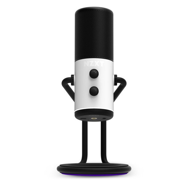 Front view of the NZXT Capsule Microphone