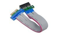 Streacom PCI Express 1X Slot Riser Card Adapter Cable