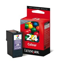 Lexmark No 24 Colour Return Program Inkjet Cartridge