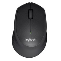 Logitech M330 Silent Plus Wireless Mice (Black) - Retail
