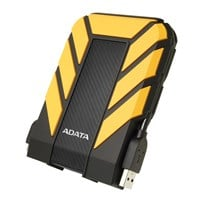Adata HD710 Pro 2TB Mobile External Hard Drive in Yellow - USB3.0