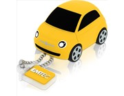 Generic Fiat 3D 8GB USB Drive - USB 2.0 Yellow