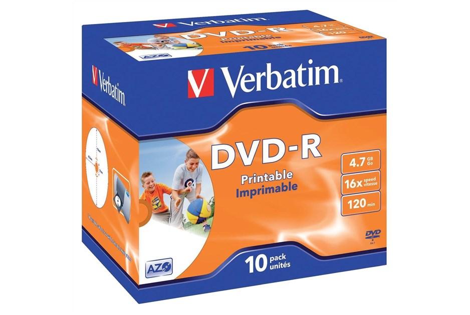 Verbatim dvd r 16x 43521 ccl computers