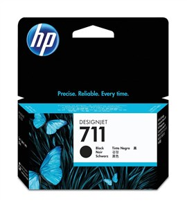 HP 711 (Volume: 38ml) Black Ink Cartridge